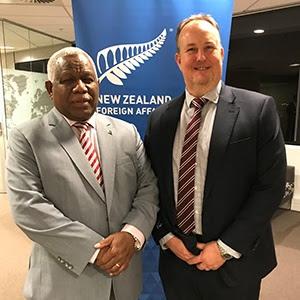 NZPBC meets The Honourable Rick Houenipwela